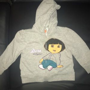 Toddler Girl Dora The Explorer Hoodie